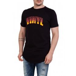 ΑΝΔΡΙΚΟ T-SHIRT VINYL 4091501 BLACK