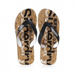 ΑΝΔΡΙΚΗ ΣΑΓΙΟΝΑΡΑ SUPERDRY CORK FLIP FLOP MF310017A BLACK-02A